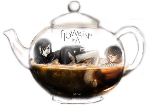 Flowering tea by MisterSue