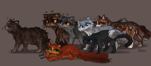 Traveler Cats by GrayPillow