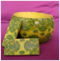Indian jewelry decoupage by dintoira