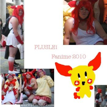Flashback: Plusle From Pokemon by LuluuxDuplica1223