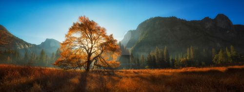 Autumn Morning Panorama by JForbes1701