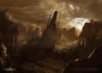 Matte_Painting_Perry_Rhodan by sven-sauer
