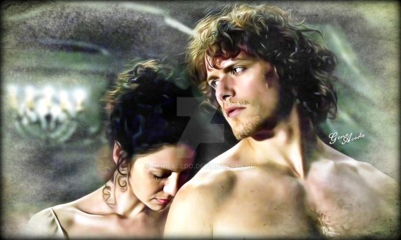 Jamie and Claire by GenoAcedo