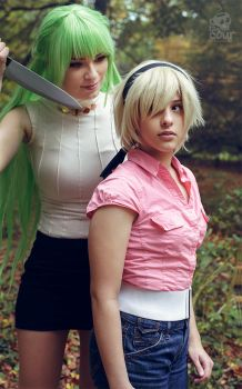 You'll make me happy by screaming by Rinaca-Cosplay