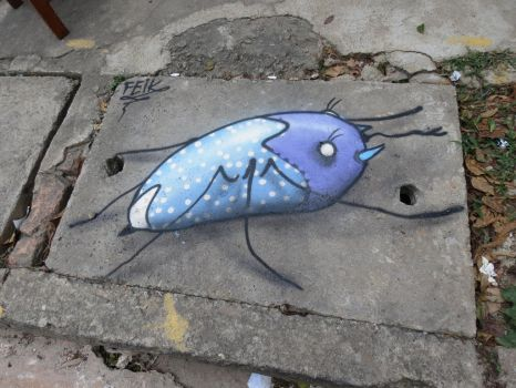 insect lost by feik-graffiti