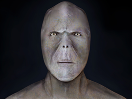 humanoid head by Still-Cg