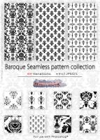 Baroque Pattern collection by PeterPlastic