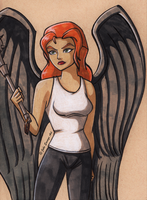Hawkgirl by Fires-storm