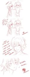 -- DMMD comic: Clear's body -- by Kurama-chan
