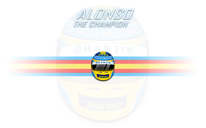 Alonso: The Champion by RuizDesign