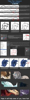 TUTORIAL: tips for lineart. by Raven250