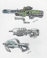 Halo - UNSC Weapons 2 by ninboy01