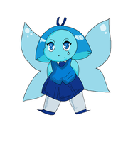 MS paint aquamarine by MilliesMenagerie