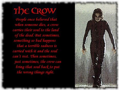 The Crow by lady-hinata