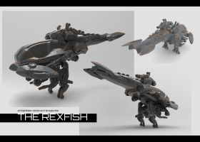 The Rexfish by VincentiusMatthew