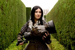 Alice Madness Returns - The Queen's Maze by xPandorae