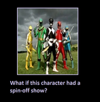What If Once Rangers Had A Spin Off Show Meme by coleroboman