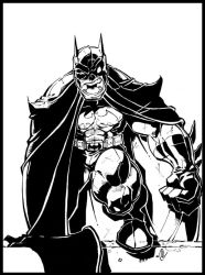 A Bat Man W.U.S.S. by -adam-