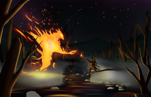 Gift of Fire by SolMatter