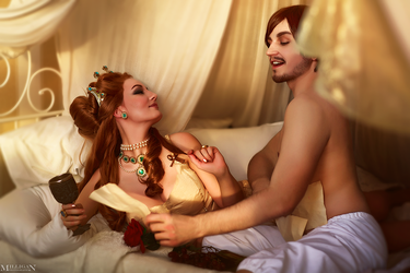 TW WH: Blood and Wine - Anna Henrietta + Dandelion by MilliganVick
