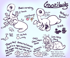 (VERY OLD) Goozilards Species info by Flipgang