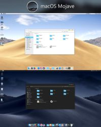 macOS Mojave Dynamic Theme by hs1987