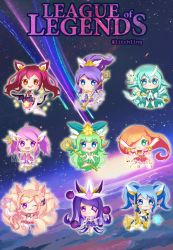 Star Guardians [League of Legends] by Litchling
