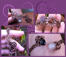 Steampunk Fairy Cuff by tanyquil