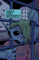 Jail! (inktober, colored) by Sighter