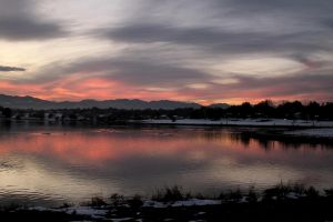 Lake Arbor sunset.. by candysamuels