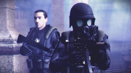 Some Opposing Force 2 Grunts by Solidfreak123