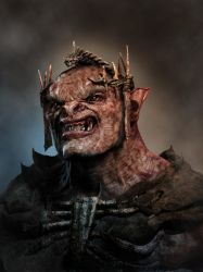 Cover Orc - 3D world magazine by MadeleineSpencer