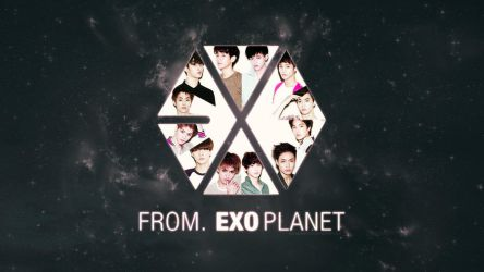 EXO Wallpaper by katharineFord