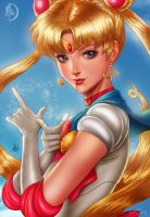 Sailor Moon by DyanaWang