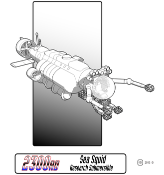 2300AD Sea Squid Research Submersible by biomass