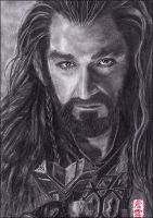 Thorin Oakenshield (Richard Armitage) by ElliCrown