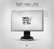 Teen Age Life - Wallpaper by Hunter-Life