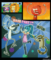 .:Party in the Work:. by The-Butcher-X