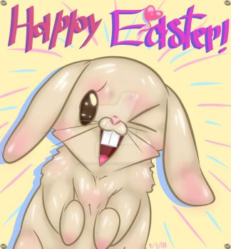 Happy Easter! :D by SomeMonsterFangirl