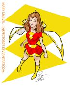 Mary Marvel by Inspector97