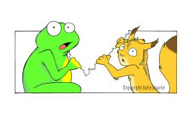 Froggy and Jules 2 by Jue