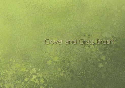 Clover and Grass brushes by carocha