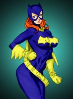 Batgirl 2 by Daikon by Mythical-Mommy