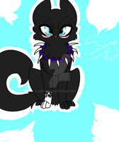Chibi Scourge (Speedpaint) by amywolf45