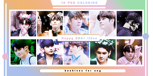 [PSD COLORING] Pack 10 CLR by Jynosawffuenp