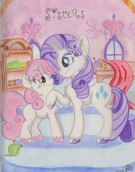 Sisters by Thorinstrawberry