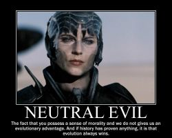 Neutral Evil Faora by 4thehorde