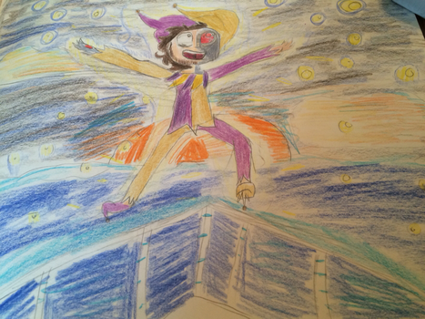 The Sky and the Dawn and the Sun (traditional) by LizzyBee2003