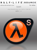 Half-Life: Source icon by vaksa