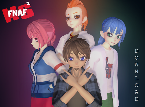 (MMD FNAFHS) Nightmares T2 (DL) by mistery551
